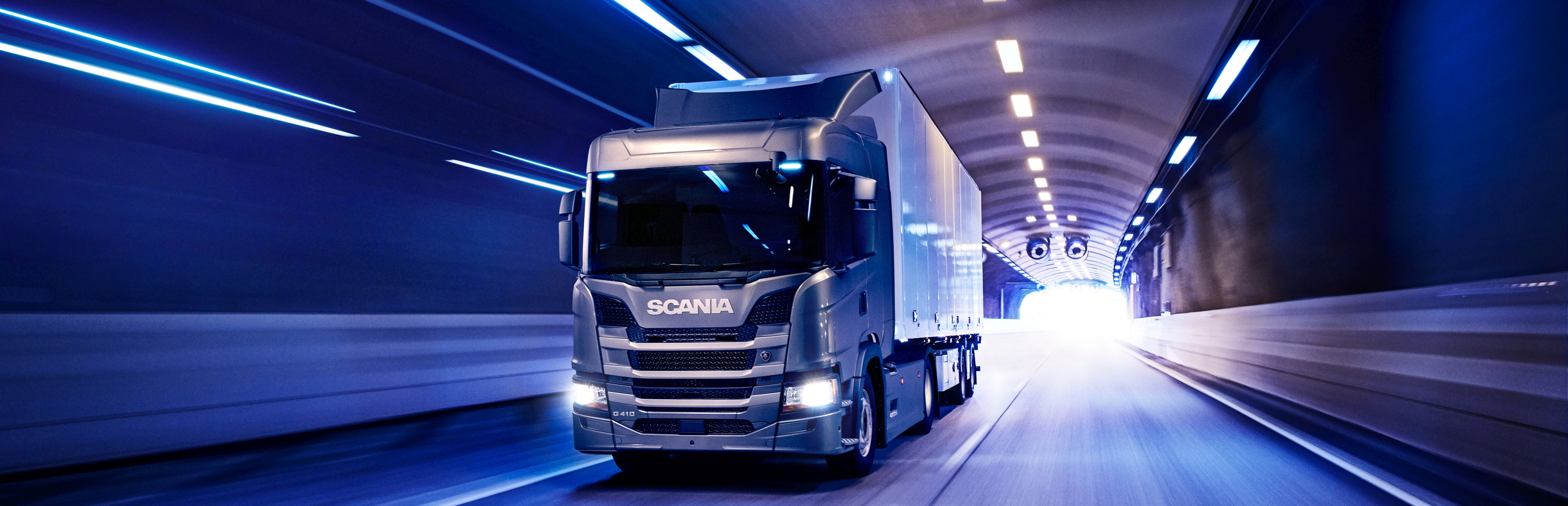 Scania G 410 4x2, general cargo transport