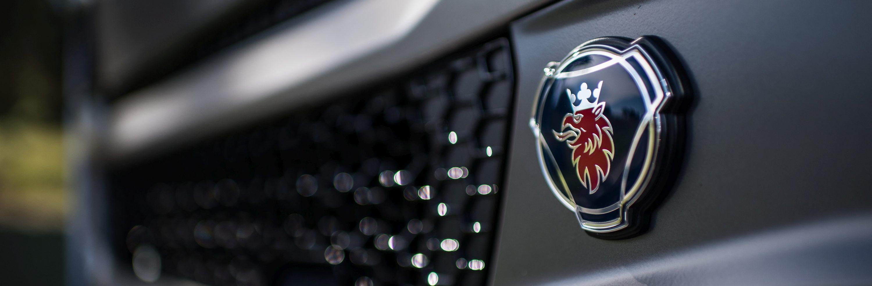 Cab exterior, Scania symbol